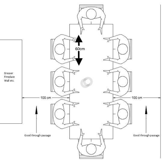 Table Dimensions Guide Diagram
